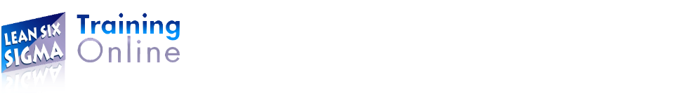 Lean Six Sigma Training Online
